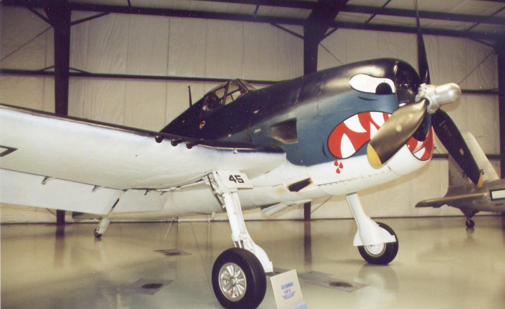 Yanks Air Museum Chino Ca Grumman F6f 5 Hellcat Flickr