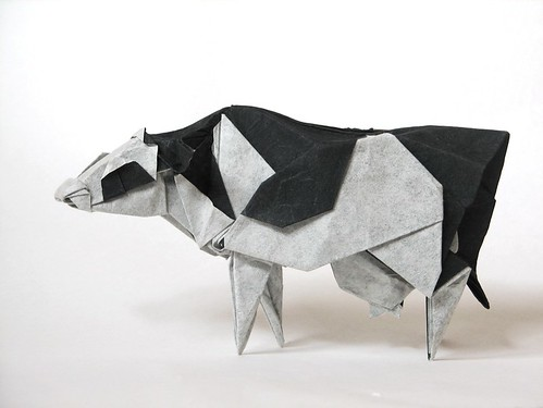 Holstein Cow | by Origami Roman
