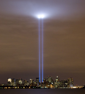 september 11th Tribute in light 2008 | by Anthony Quintano