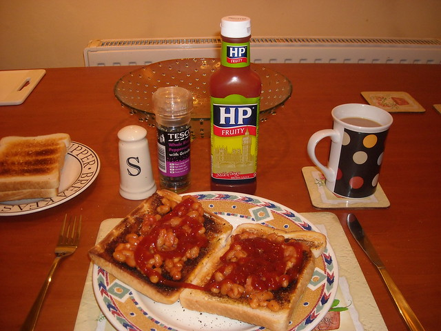The great British beans on toast | What I had for me scran t ...