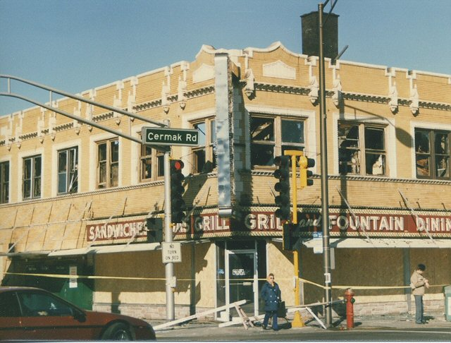 The Seneca Restaurant Gone Berwyn Illinois March 1987