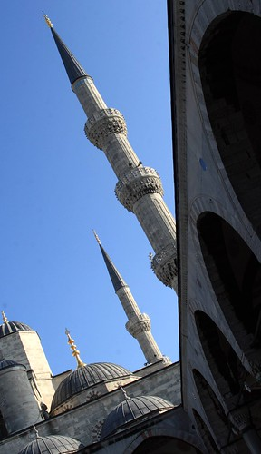 Minarets looking like missiles at the Blue Mosque, Istanbul | by Alaskan Dude