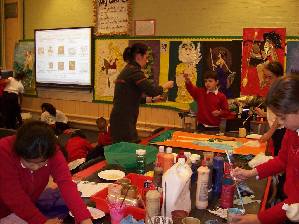 Myriam Teaching At Davies Lane Primary School Myriam