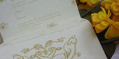 Sri Lankan Wedding Invitations