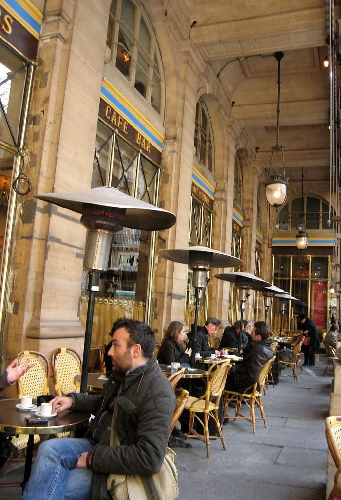 Cafe Palais Royal Paris France