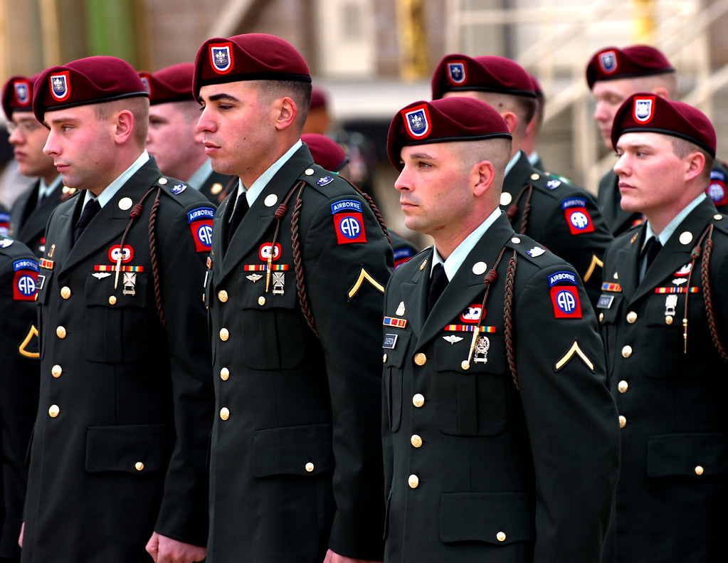 Not leave! Nd airborne class a uniform
