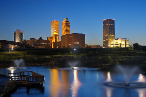 Tulsa Skyline From Centennial Park | Flickr - Photo Sharing!