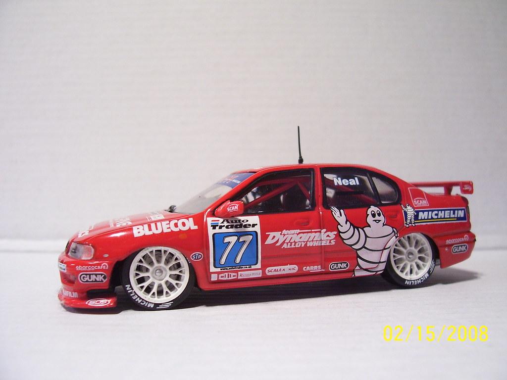 1999 btcc 77 nissan neal 1999 autotrader british