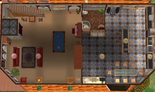 Sims 2 homes floor plans etc my creations suzba flickr for Sims 2 floor plans
