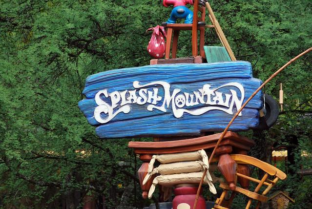 splash mountain sign | Flickr - Photo Sharing!