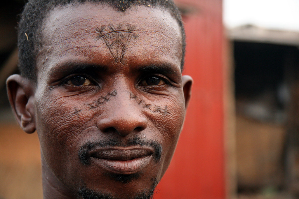 Facial scarring in fulani tribe assured
