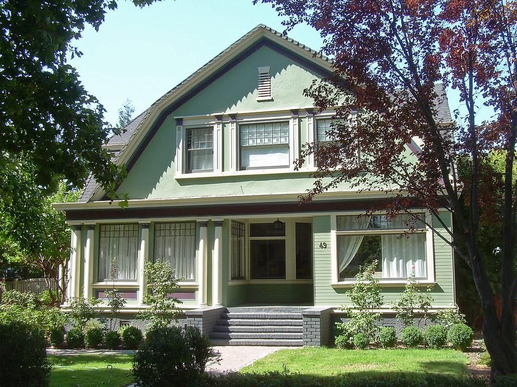 dutch colonial revival house san jose california flickr. Black Bedroom Furniture Sets. Home Design Ideas