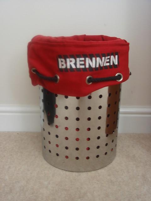 jason bourne red bag