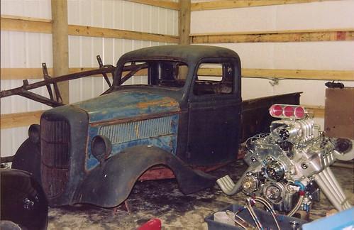Boss 429 Blown 1937 Ford Pickup Rat Rod By Switzgal
