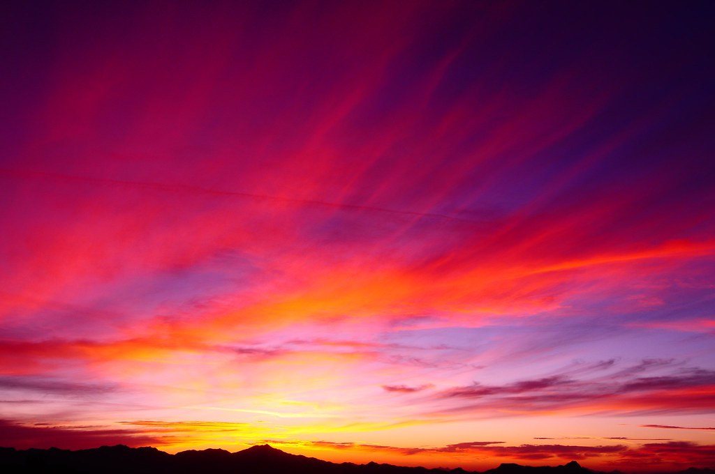 Painted Sunset Images