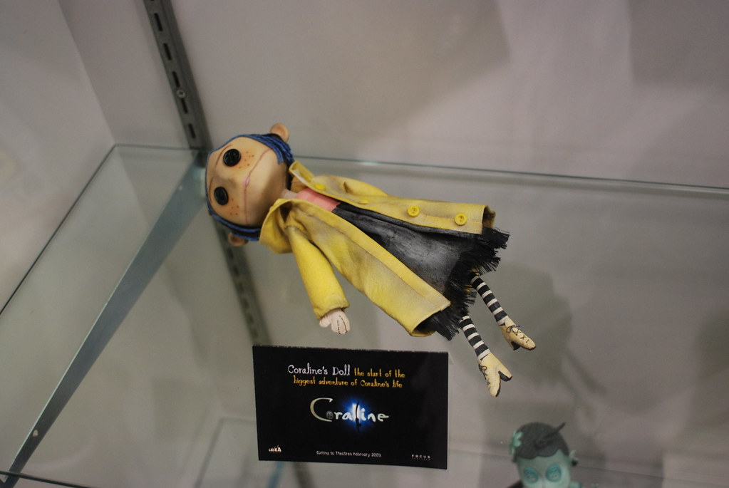 Coraline S Doll Taken At The 2008 San Diego Comicon