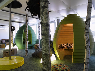 "Google Office ""Cubicles"" 