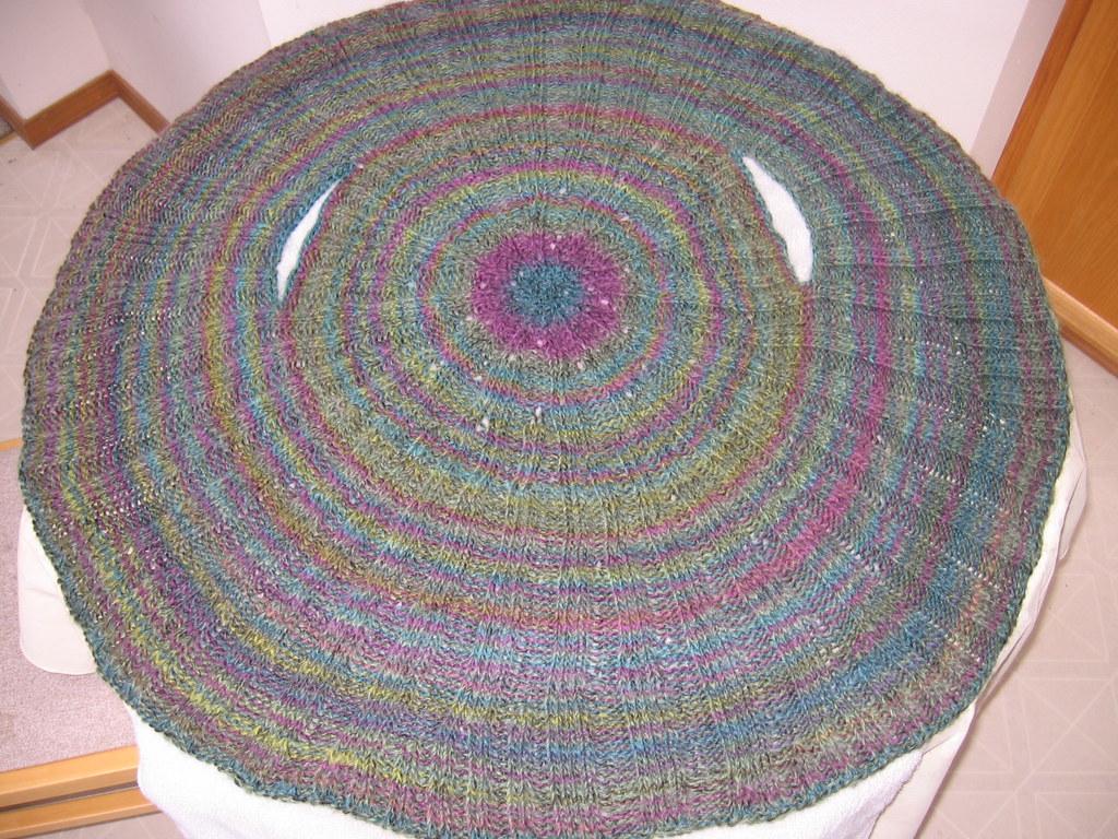 Circle Knitting Pattern : Knit circle vest Pattern: Circle Vest from Silk Knits by E? Flickr