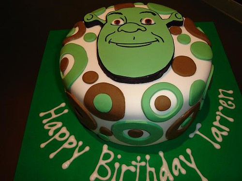 shrek cake pan