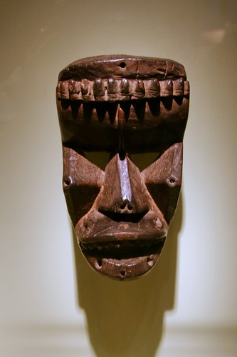 Mask, Krahn peoples, Liberia, Late 19th century, Wood | by cliff1066™