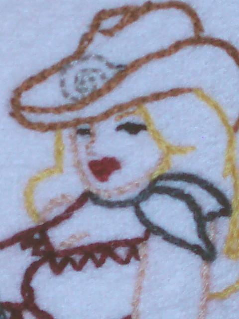 Cowgirl Machine Embroidery Designs