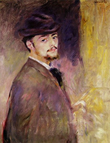 Renoir, Pierre Auguste (1841-1919) - 1876 Self Portrait at Age 35 | by RasMarley