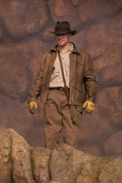 Indiana Jones Stunt Show Looks Nothing Like Indiana