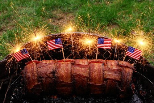 The Bacon Explosion!!!  As American as Apple Pie | by David M Hogan