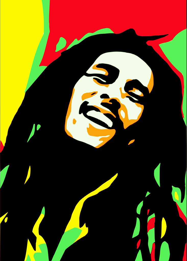 Bob Marley Digital Art Check Out My Website For More