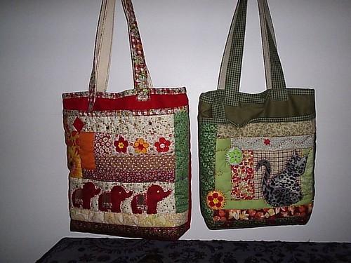 Bolsa Em Tecido Patchwork Passo A Passo : Bolsas em patchwork flickr photo sharing