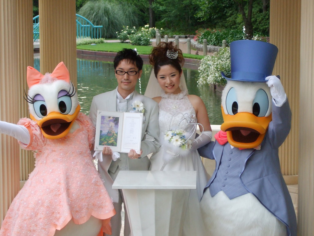 Donald and daisy duck married - photo#35