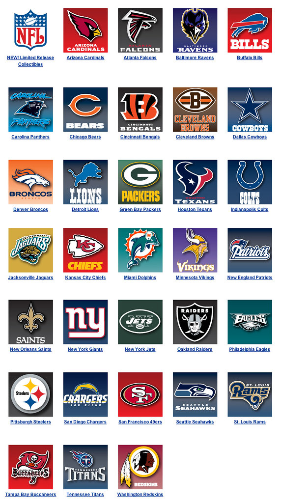Image Result For All Afc Teams
