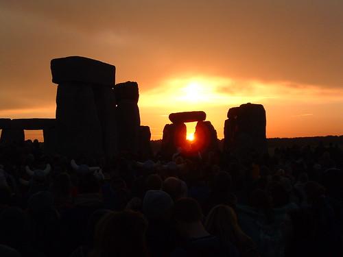 Summer Solstice Sunrise Stonehenge
