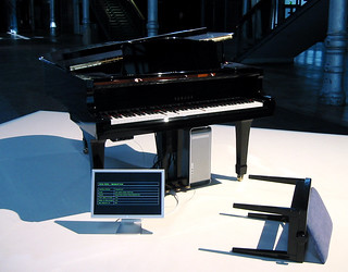 Thomson & Craighead, Unprepared Piano, 2003 | by eyebeam
