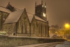 Farsley Church in the Snow by BoSquidley