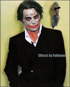 Johnny Depp as Joker   How Johnny Depp would be as Joker twi ... Johnny Depp