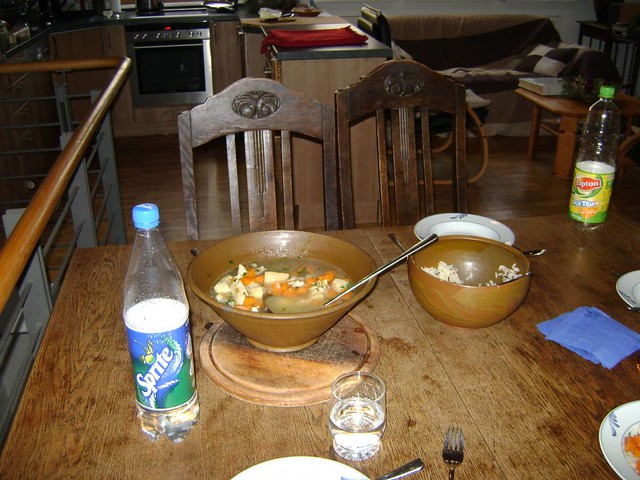 Chicken Soup And Sprite For Food Poisoning Clansweber Flickr
