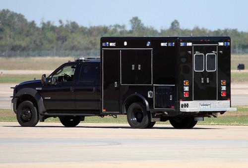 U S Secret Service Presidential Detail Ford F550 Horton