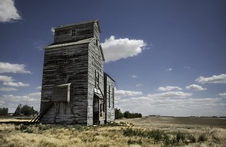 The Old Silo Against the Elements | by Stuck in Customs
