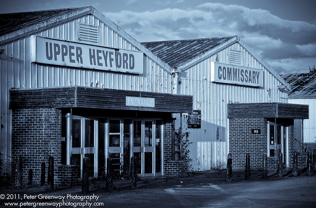RAF Upper Heyford Base - Commissary | The commissary at ...