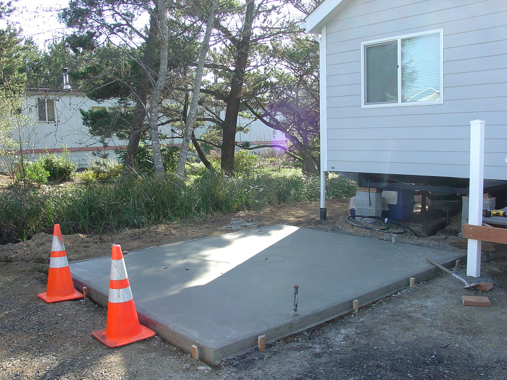 Cost to install annual air conditioner maintenance for Air conditioner pad concrete