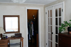bedroom/closet after | by the mayfly
