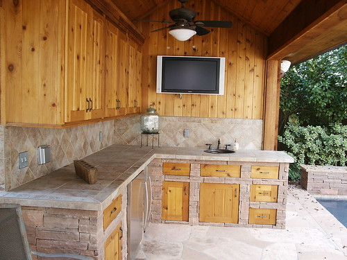 Outdoor Kitchen And Pool House Flickr Photo Sharing