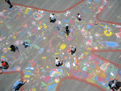 Kids' Chalk Art Project | by Michael Layefsky