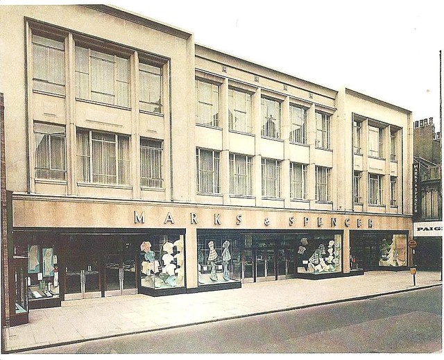 1950s View Of Marks And Spencer Linthorpe Road Middlesbr
