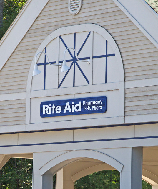 Rite Aid Pharmacy Wall Sign Bethel Me Flickr Photo