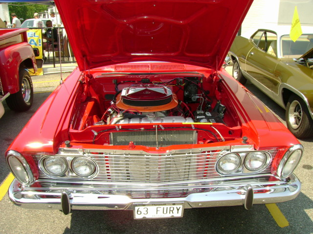 1963 Plymouth Sport Fury Convertible Old School New