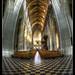 Step outside your frame - Sint Pieterskerk - Leuven - Belgium :: Fisheye - HDR