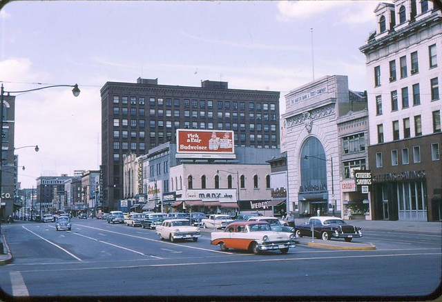 downtown canton about 1959 1 this is looking north from t. Cars Review. Best American Auto & Cars Review