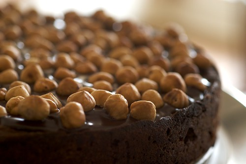 Chocolate Hazelnut Cake | by bakeorbreak